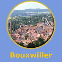 La ville de Bouxwiller